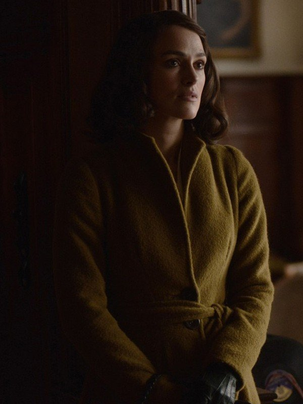 Keira Knightley The Aftermath Rachael Morgan Wool Coat