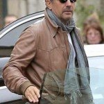 Kevin Costner 3 Days to Kill Ethan Renner Leather Jacket
