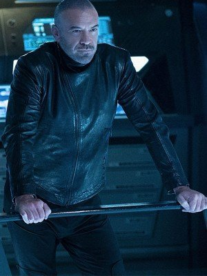 Star Trek Discovery Alan Van Sprang Leather Jacket