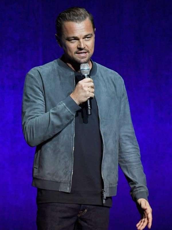 Leonardo DiCaprio Bomber Jacket