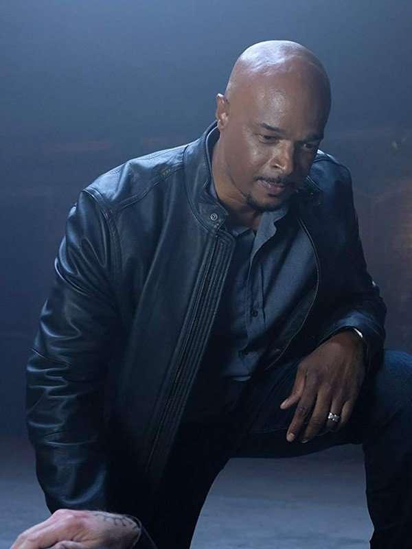 Lethal Weapon Damon Wayans Black Leather Jacket