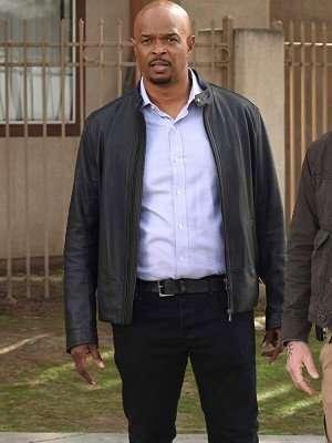 Damon Wayans TV Series Lethal Weapon Leather Jacket