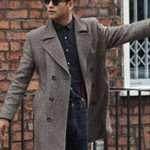 Luke Pasqualino Grey Wool Coat