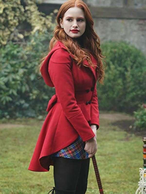 Madelaine Petsch Season 3 Riverdale Wool Jacket