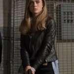 Manifest Melissa Roxburgh Black Leather Jacket