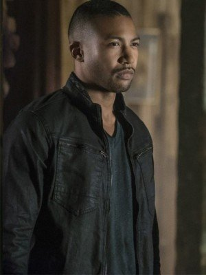 The Originals Charles Michael Davis Black Cotton Jacket
