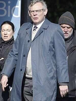 Manhunt Martin Clunes Blue Coat