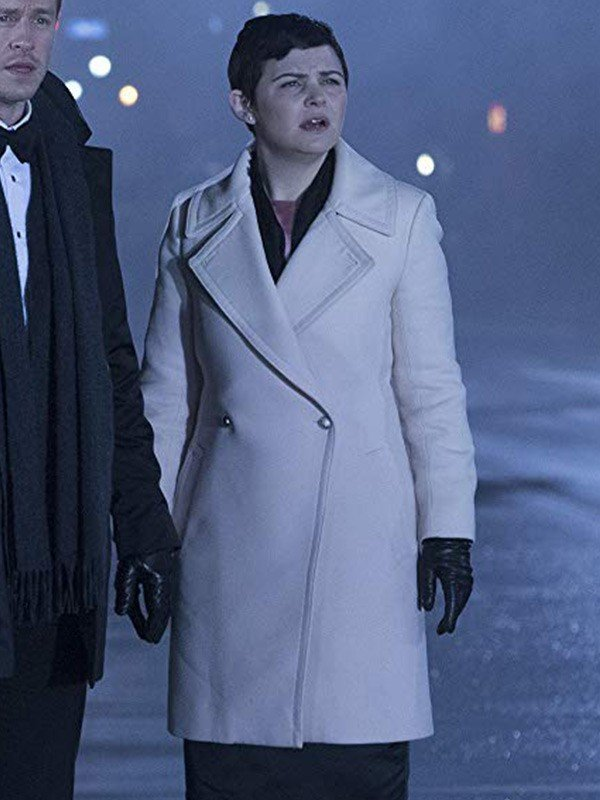 Mary Margaret Blanchard Once Upon a Time Leather Trench Coat