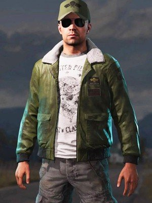 Mayday Far Cry 5 Green Bomber Jacket