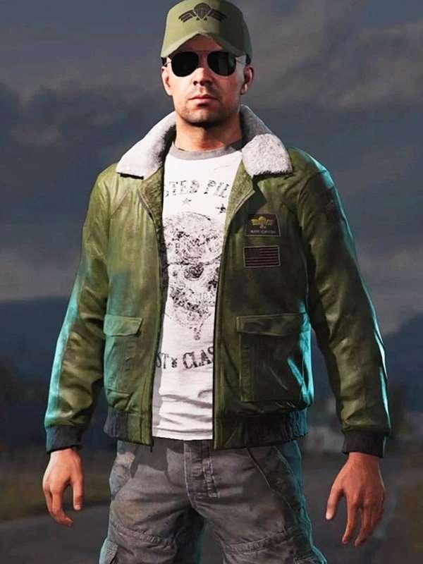 Mayday Green Bomber Jacket