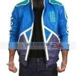 Mortal Kombat 11 Blue Leather Jacket