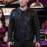 Nathaniel Plimpton Crazy Ex-Girlfriend Black Leather Jacket
