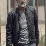 Negan The Walking Dead Black Jacket