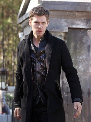 Nicklaus Mikaelson The Originals Black Wool Coat