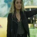 Norther Rescue Amalia Williamson Black Leather Jacket