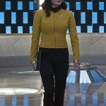 Number One Star Trek Discovery Yellow Leather Jacket