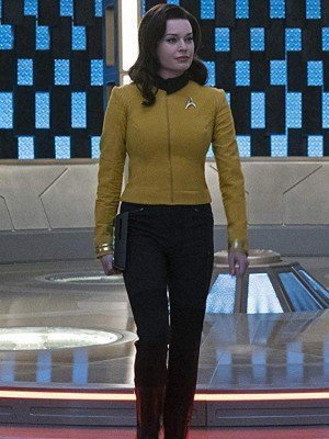 Rebecca Romijn Star Trek Discovery Number One Yellow Jacket