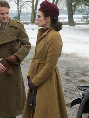 The Aftermath Keira Knightley Wool Coat