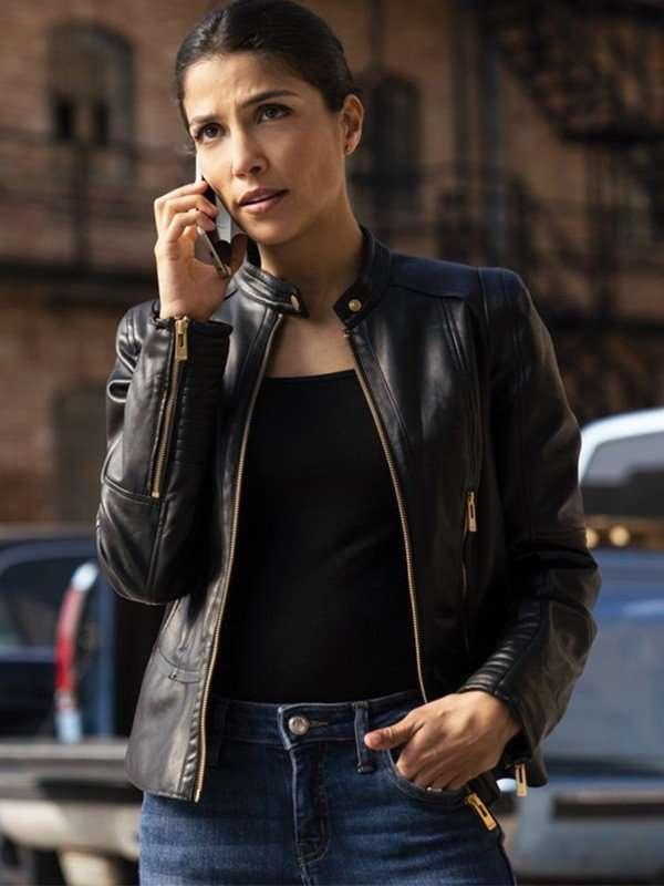 Ransom Nazneen Contractor Black Leather Jacket
