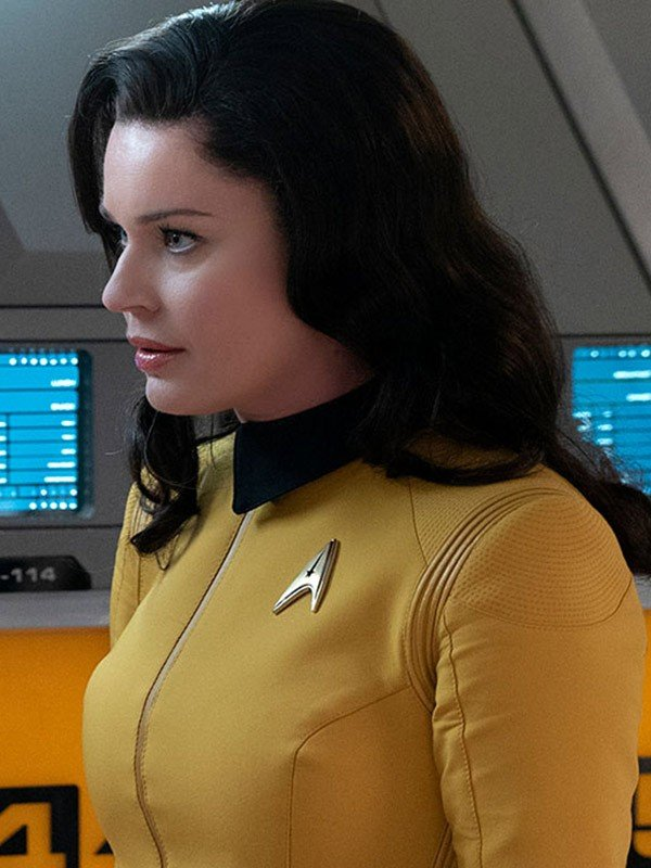 Rebecca Romijn Yellow Jacket from Star Trek Discovery