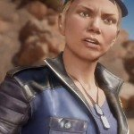 Sonya Blade Blue Jacket