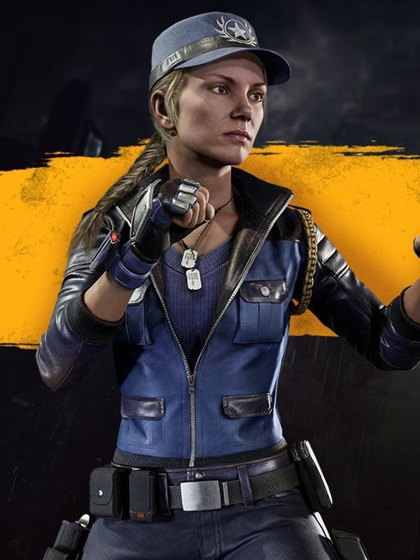 Sonya Blade Mortal Kombat 11 Leather Jacket