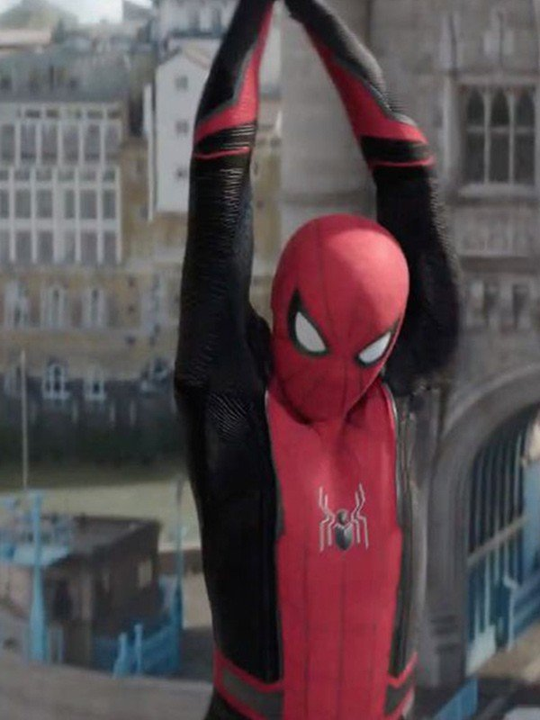 Spiderman Red and Black Jacket