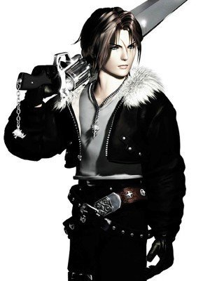 Final Fantasy 8 Squall Leonhart Leather Jacket