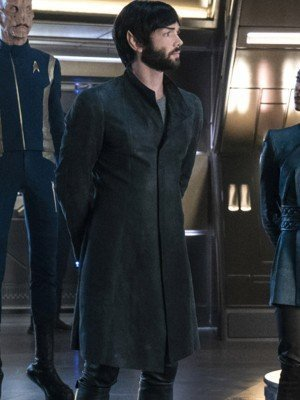 Ethan Peck Star Trek Discovery Spock Coat