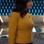 Star Trek Discovery Rebecca Romijn Yellow Jacket