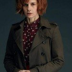 TV Series A Discovery of Witches Gillian Chamberlain Cotton Trench Coat