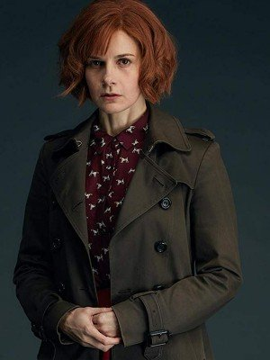 A Discovery of Witches Louise Brealey Trench Coat