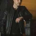 TV Series Gotham Ben McKenzie Black Leather Jacket