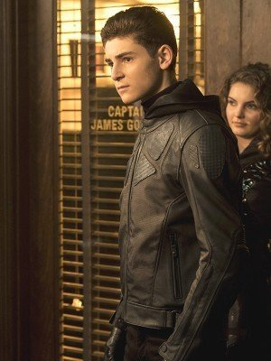 Bruce Wayne Gotham Black Leather Jacket