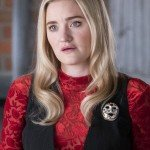 TV Series Schooled Lainey Lewis Black Vest