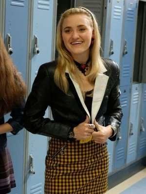 Schooled AJ Michalka Black Jacket