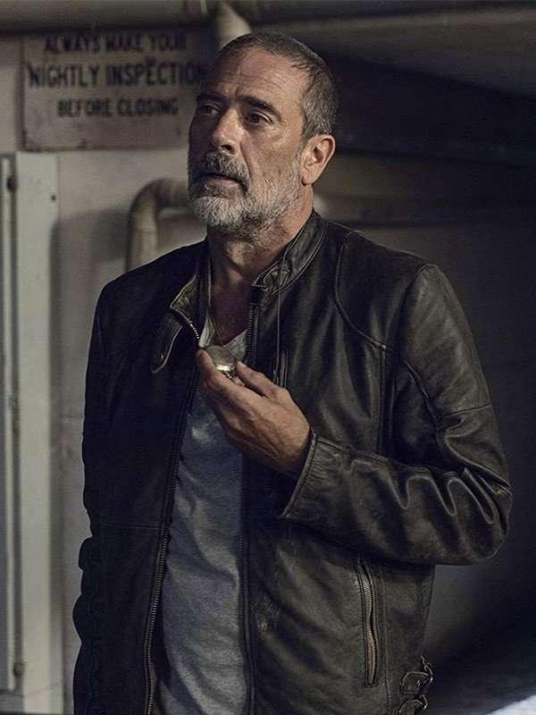 TV Series The Walking Dead Negan Black Leather Jacket