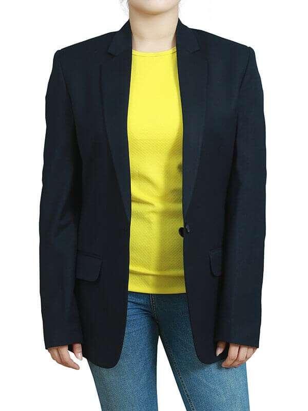 TV Series You Guinevere Beck Cotton Blazer Jacket