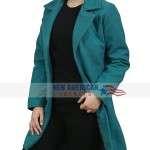 TV Series You Guinevere Beck Wool Blazer Coat
