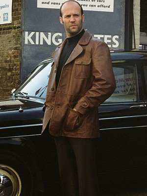 The Bank Job Jason Statham Brown Leather Jacket