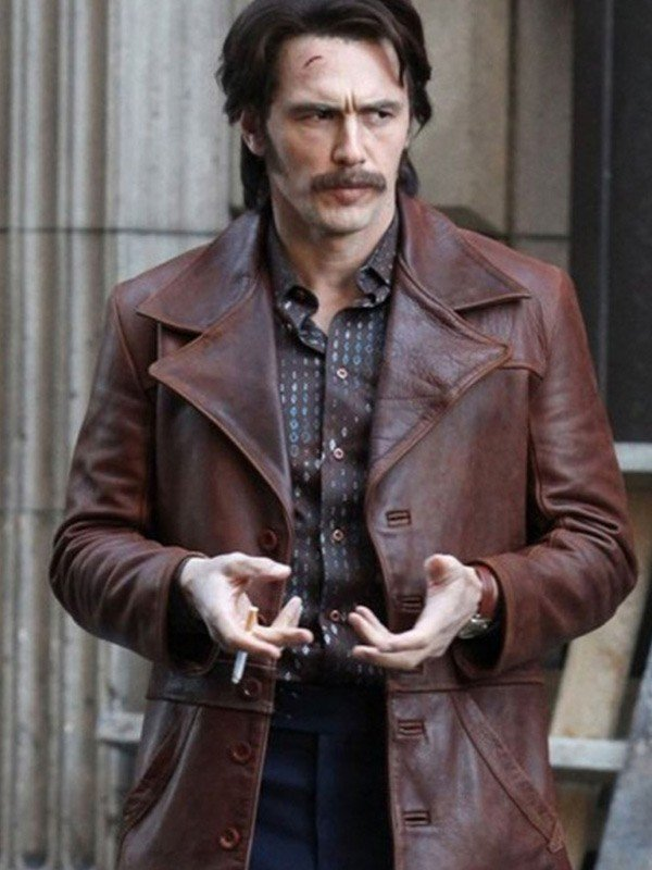 The Deuce Frankie Martino Distressed Leather Jacket