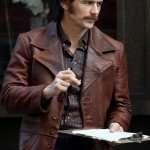 The Deuce James Franco Brown Leather Jacket