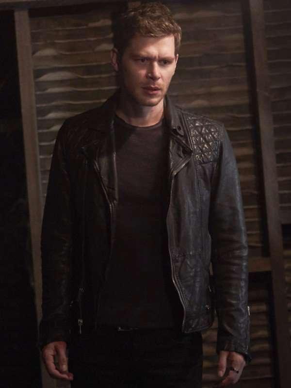 The Originals Joseph Morgan Black Leather Jacket