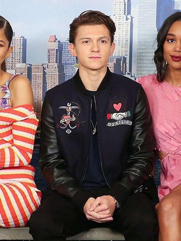 Tom Holland Bomber Jacket