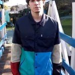 Wallows Side­lines Colorblock Jacket