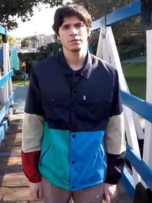 Braeden Lemasters Wallows Colorblock Jacket