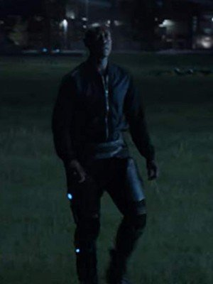 Don Cheadle Avengers Endgame Black Bomber Jacket