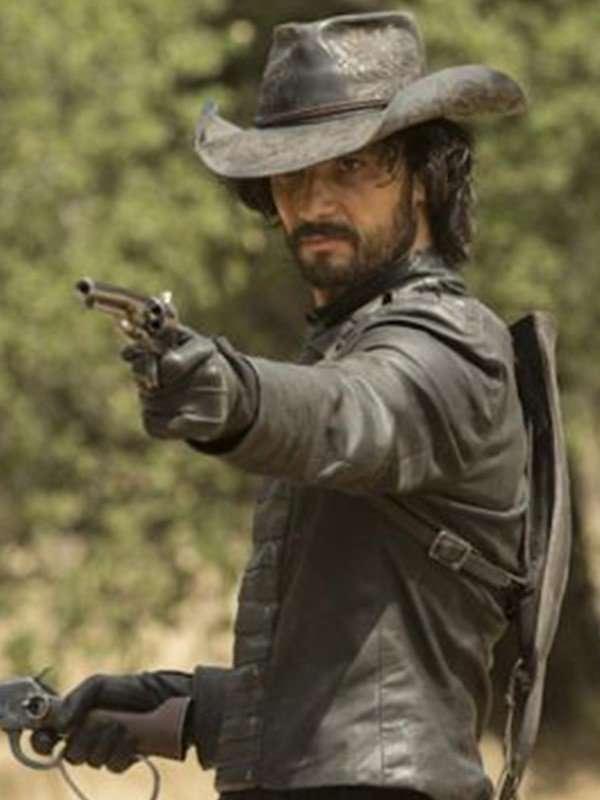 Westworld Rodrigo Santoro Black Leather Jacket