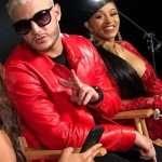 William Sami Étienne Grigahcine DJ Snake Red Leather Jacket