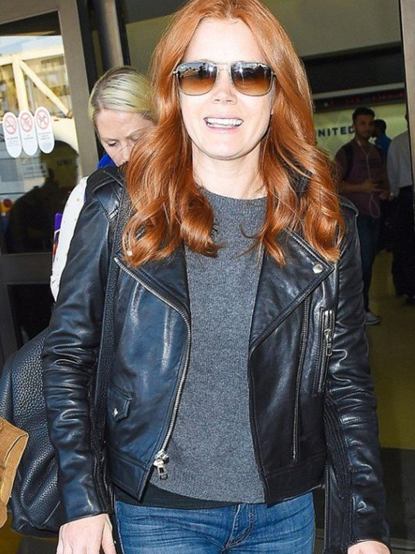 Amy Adams Black Jacket